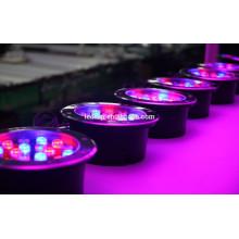 Luz subterránea llevada RGB 18w con DMX512 Compatible