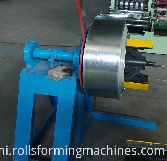 C Z Adjustable Purlin Roll Forming Machine--decoiler