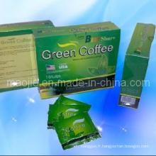 Meilleur vente chaude 2014 partage café de perte de poids vert (MJ68)