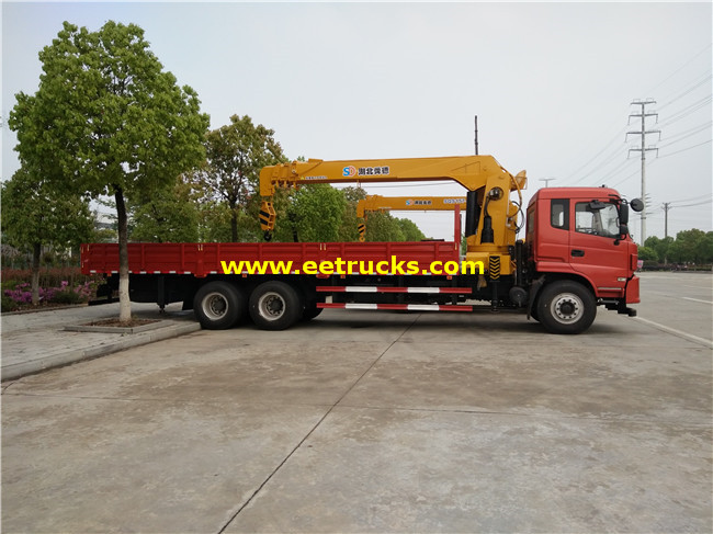 14ton Truck with Cranes