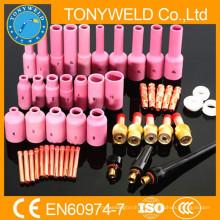 Accesorios de antorchas wp18 / wp26 kit de piezas de soldadura 50PK tig
