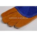 А3 47см ладони и большого пальца толстые сварочные перчатки коровы разделенная кожа сварочные перчатки