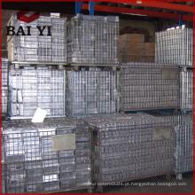 Gas Cilindro Armazenamento Cage / Metal Storage Cage Sale