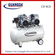 Compresseur d'air sans huile CE SGS 65L 800wx2 (GD140)