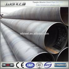 large diameter corrugated steel pipe price of carrying gas, water or oil