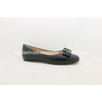 Dernier Comfort Europe Ballerina Pumps Leather Lady Shoe