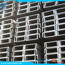 ASTM A582 espessura encolada 316L espessura 8 mm barra de canal de aço inoxidável