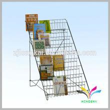 Metal contador de vaporizador tetail e-cig stand de visualización para el suministro de atención sanitaria