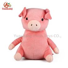 Porco-de-rosa porco-de-pente de pelúcia por atacado