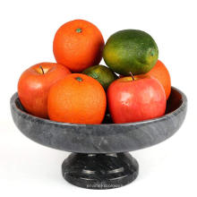 Marmorquarz-Steinfrucht in der Sockelschüssel