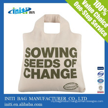 China custom cheap quality Reusable organic cotton bag