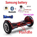 Hoverboard avec Bluetooth LED allume une grande roue