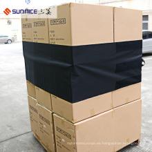480 * 4600mm Negro Reutilizable Cargo Protection cubre la película del PVC