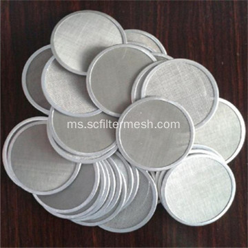 Circle Stainless Steel Filter Screen Mesh