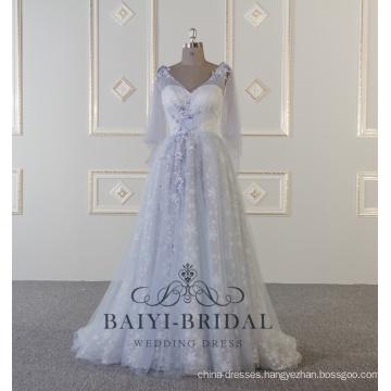 2018 Alibaba Evening Dresses Women Vestidos De Fiesta Tulle Bead Evening Gown