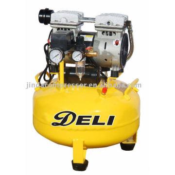 Compresseur d'air libre de 35L 1680 tr/mn huile silencieux