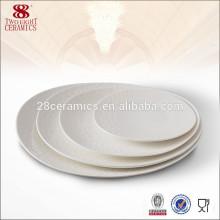 Assiettes en céramique de forme de vaisselle en céramique