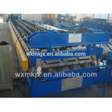 YX25-205-820 Colored Steel Roof Plate Roll Forming Line