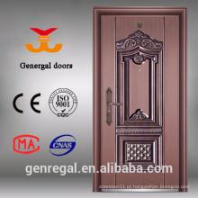 Imitação exterior de alta qualidade Grande porta de latão