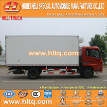 DONGFENG 4x2 10Tons refrigerated truck 170hp in good condition hot sale