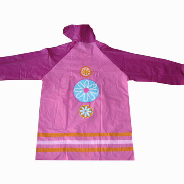 Girl's Pvc Rainwear