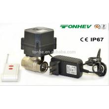 Válvula de esfera elétrica da água do controle de rádio R20 para o controle remoto
