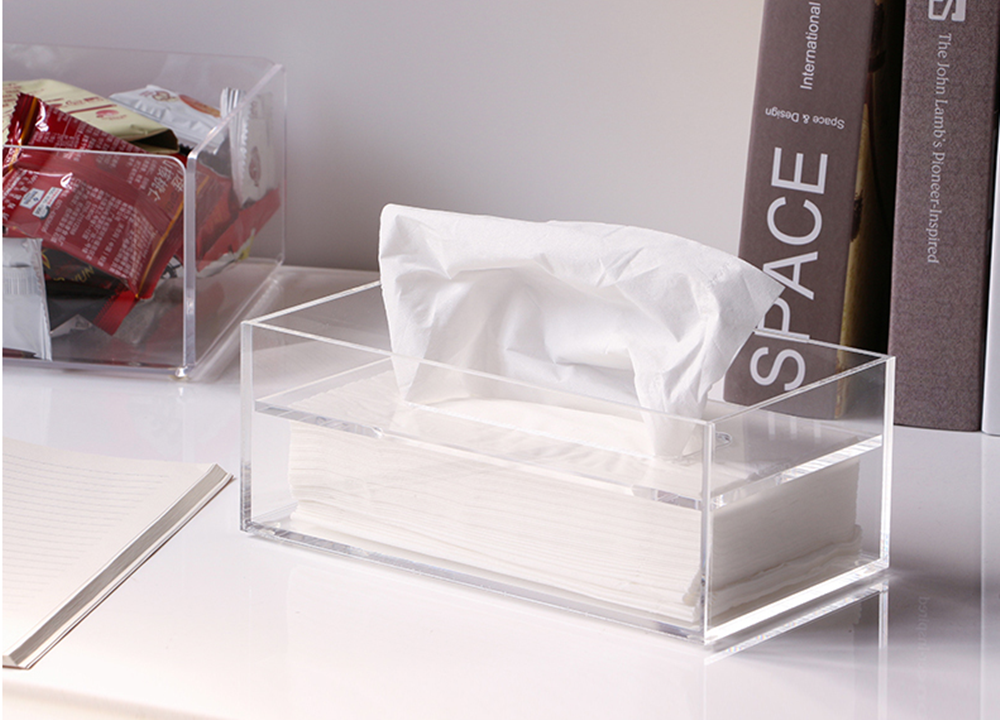 Tissue Box Cover Clear