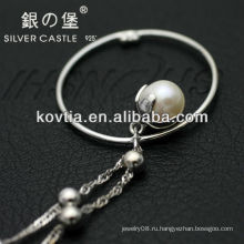 Уникальный дизайн жемчужина подвеска ювелирные изделия 925 стерлингов ожерелье цепи ожерелье