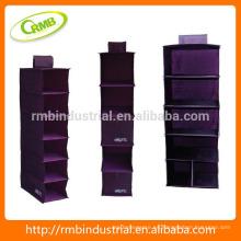 Púrpura serie de colgar el bolso / almacenamiento duradero bolsa / armario colgante organizador / púrpura organizador de la pared