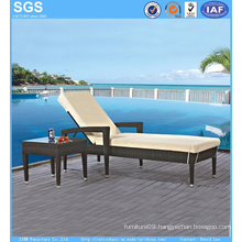 Rattan Garden Furniture Resort Pool Side Sun Lounger