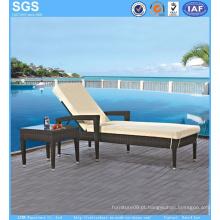 Rattan Garden Furniture Resort Piscina Side Sun Lounger