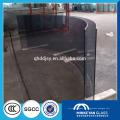 Flachbiege Verbundsicherheitsglas für Bürofenster