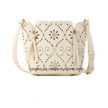 New Arrived Women Punched Designer Popular Handbags (ZX10121)