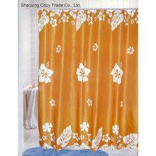 Big Flower Tela de baño cortina de ducha de poliéster
