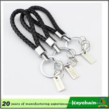 Corrente chave da corda com logotipo do laser do logotipo do carro