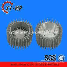 aluminium die cast round aluminium tube factory,aluminium round heat sink