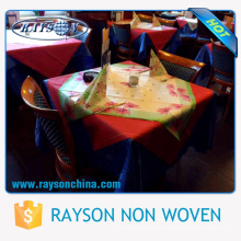 Decorative Disposable Types Of Hotel Table Covers