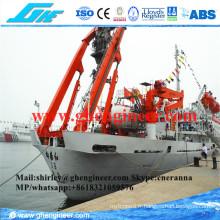 Électrique Hydraulique a Frame Deck Grane Expediture Ship