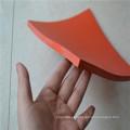 Almofada de borracha vermelha da folha de borracha de 10mm SBR