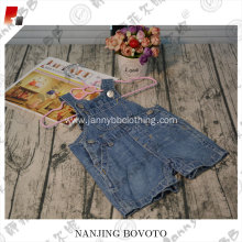 baby bottoms summer denim blue overalls shorts