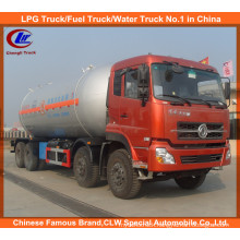 Factory Direct Sell Dongfeng 8*4 LPG Tank Truck