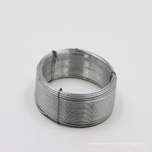 Suministre el alambre de hierro galvanizado Q195