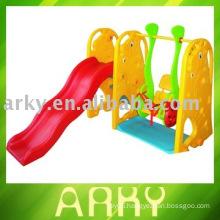 Plastic Kids Indoor Swing with Slide (Swings)