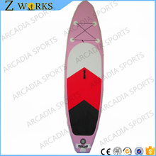 Pink Inflatable Stand Up Paddle Board Inflatable Sup Board