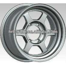 15/16 pulgadas hermosa 4/6/8 agujero 139.7mm réplica de la rueda de coche deportivo