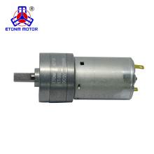 24VDC DC-Motor mit hohem Drehmoment und niedriger Drehzahl mit Getriebe 32mm