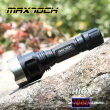 Maxtoch-HI6X-7 Led-Taschenlampe Mini-Solarzelle