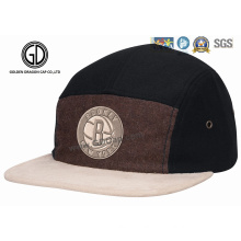 2016 Top Quality Ny Wool Snapback Camper Cap with Embroidery