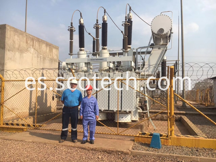 120kv oil immersed power transformer