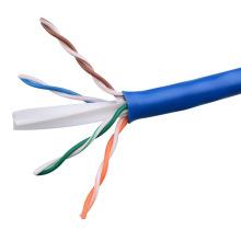 UTP CAT6 LSZH Cable Fluke Tested Soild Bare Copper Blue